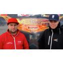 Bröderna Ahlberg hoppas på önskerepris i V8 Thunder Cars