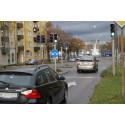 Trafiksignaler trimmas på Östra Promenaden