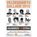#SammenForSyria - en veldedighetsgalla av Bjørknes Høyskole for Flyktninghjelpen på Wallmans Oslo