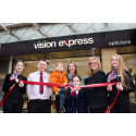 ​Eye cancer survivor opens new Glasgow Fort Vision Express store