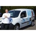 Renault støtter Bocuse 'd'Or kandidaten Jeppe Foldager med en 100 % elektrisk Renault Kangoo Z.E.