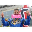 Fredrik Solberg efter segern i Olympiatravet