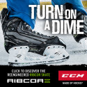 TURN ON A DIME – CCM RIBCOR SKATE POWERED WITH PUMP TECHNOLOGY