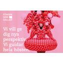 """Kulturstaden Borås under konceptet """"Staden som galleri"""" – Vi vill ge dig nya perspektiv, vi guidar hela hösten."""