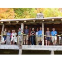 View of the 2014 group taken at the Von Trapp cabin
