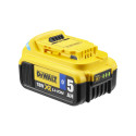 DEWALT ToolConnect DCB184B 5AH XR Battery Rear