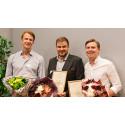Årets entreprenör prisad på JIBS