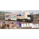 Utställningen med hjärna besöker Uppsala