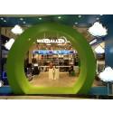 Q-channel´s lösningar för butiker i Mall of Scandinavia.