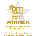 South Essex Partnership NHS Trust win Document Manager Public Sector Project of the Year award 2015