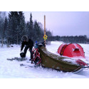 Vissa bor Ski-in Ski-out. Andra bor i tält. På en golfbana.