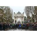 Vårens cykelfest börjar i Milano