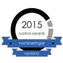 Halvårsnomineringar till Custice Awards 2015 för län i Norrland.