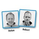 Robert och Anton förstärker Scanlaser AB