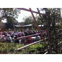 Trädgårdarna på Astrid Lindgrens Näs är nu invigda!