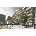 Vinst i arkitekttävling om nya bostäder i Rosenlundsparken