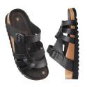 Magntettoffel/-sandal, skinnfri