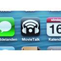 MovieTalk är en av fem appar som är kopplade till Tillgänglig bio