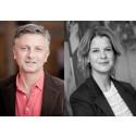 Stina Götbrink och Per Hamid Ghatan till Vi-skogens styrelse