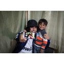 Hani och Ashraf tar en selfie