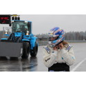 Nytt världsrekordförsök för Volvo L60G PCP - världens snabbaste hjullastare
