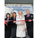 Visually Impaired Local from the Macular Society Is Guest of Honour at Opening of Ulverston Vision Express
