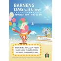 Invigning av Räkan Ruts sagostig, vattenexperiment och pyssel på Barnens dag vid havet