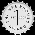 Logga The Brewhouse Award, vit