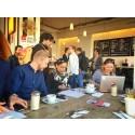 Besöker startup-scenen i Berlin