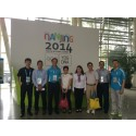 VIP Guests Tours the Nerve Centre of Nanjing 2014 YOG