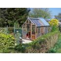 The Rosemoor med trädgårdsbod