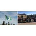 Som fjärde skola i Sundsvall hissar S:t Olofsskolan Grön Flagg för hälsa och miljö