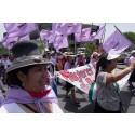 Klimatdemonstration i Lima under COP20