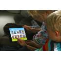 Satser på barna via iPad