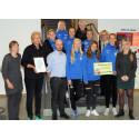 Eskilstuna United vinnare av Eskilstuna kommuns jämställdhetspris 2015!
