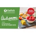 Snart dags för The Forks Gastronomifestival i Stockholm