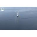 SeaTwirls havsbaserade flytande vindkraftverk