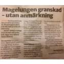 Nytt från Magelungen i Gävle