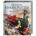"""Omslag, """"Harry Potter och De vises sten"""" av J.K. Rowling. Illustratör: Jim Kay."""