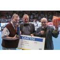 Idrotts-Loket 2014 och 50 000 kronor till ledarprofilen Krister Pettersson i IK Celtic