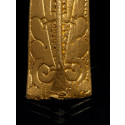 Detalje af armring af guld fra vikingetiden fundet med metaldetektor af Pawel Piotr Konieczny