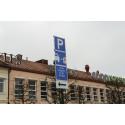 Mårtenstorget får parkeringsplatser dedikerade för elbilar