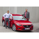 J BIL rullar igång med Mazda