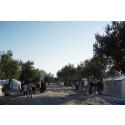 Karatepe transit camp, Mytilini, Lesvos, Greece