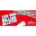 Stena Line slipper 100 000 billige billetter!