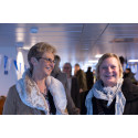 Namntävlingsvinnarna Annette Jarhult och Marianne Lindgren