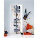 Elfa Utility Door and Wall rack i platin