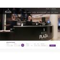 Webbplats till Hotel Plaza