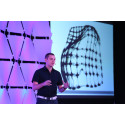 Skylar Tibbits, Director of the Self-Assembly Lab at MIT presented his research on 4D printing at EmTech Singapore, 21 Jan 2014