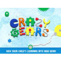 Introducing the highly anticipated sequel to Seven Academy's Busy Shapes, Crazy Gears!